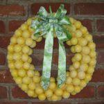 Lemon Head Wreath