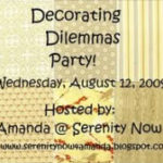 Decorating Dilemma Party
