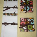 Coaster and Notepad Gift Set