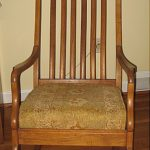An Updated Cushion for an Antique Rocking Chair