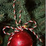 Ornament Gifts: Monogrammed Glittered Balls