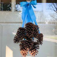 Pine Cone Door Decoration