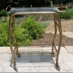 Tea Cart Makeover