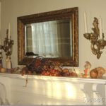 Walnut Avenue :: Thanksgiving Mantel