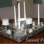 Winter Decorating :: Silver and White