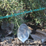 Metal Stamped Spoon Plant Markers