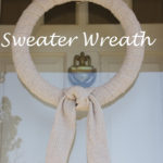Turn a Sweater into a Sweater Wreath