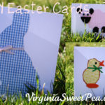 Make Your Own Easter Cards Using Cookie Cutters