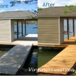 Spring Break :: Dock Staining
