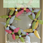 Recycled Soda Bottle Wreath