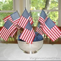 Flag Centerpiece for the Kitchen