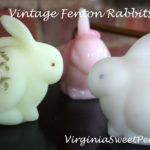 Vintage Fenton Rabbits