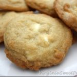 White Chocolate with Orange Cookies