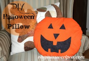 Halloween Pillow or Wall Hanging