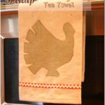 Simple Thanksgiving Tea Towel