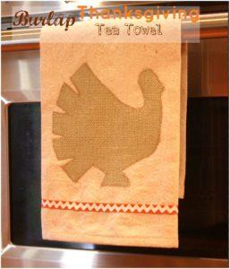 Simple Thanksgiving Tea Towel