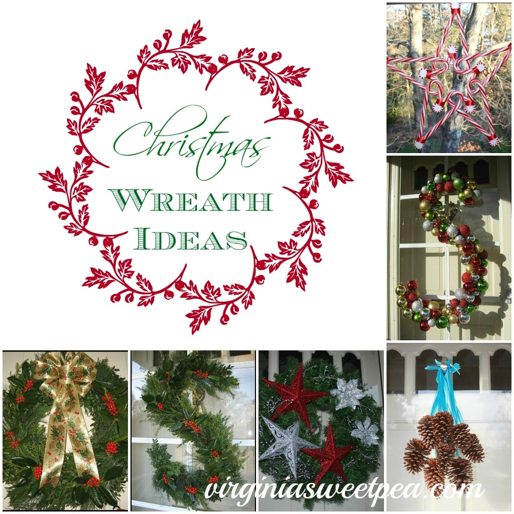 Six Christmas Wreaths to Inspire - Sweet Pea