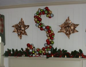 Monogram Ornament Wreath