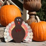 Martha Stewart Circle Edge Punch (And a Cute Hokie Turkey!)