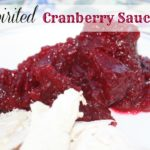 Spirited Cranberry Sauce