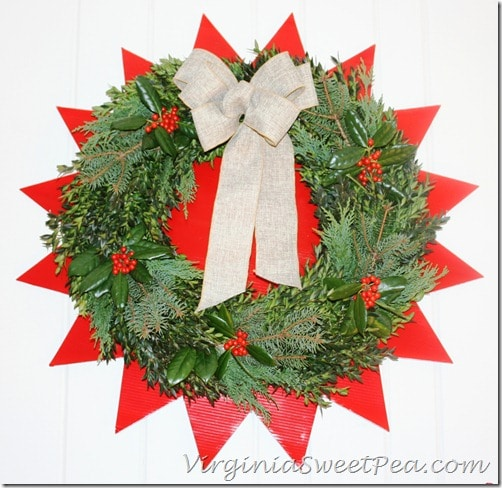 2012 Christmas Wreath by Sweet Pea