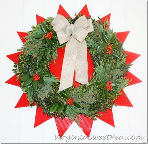 2012 Christmas Wreath by Sweet Pea