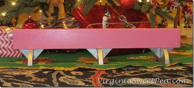 American Girl Knock-Off Balance Beam Side View