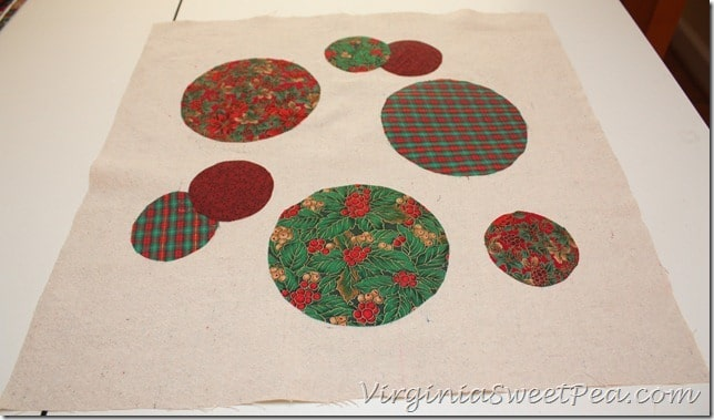 Ball Christmas Pillow How-To2