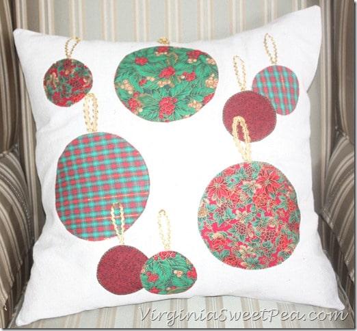 Ball Christmas Pillow How-To3