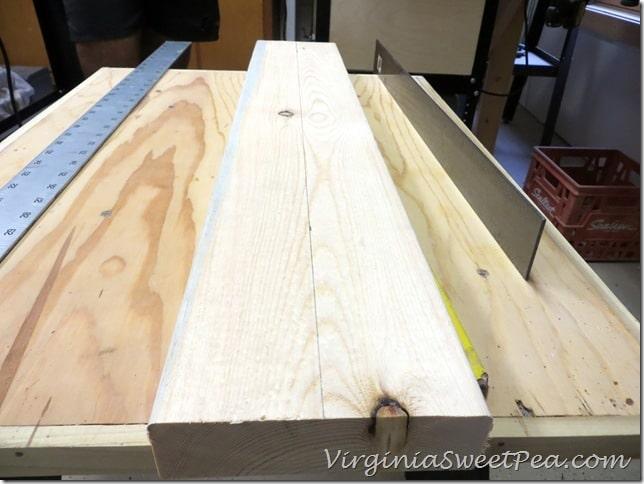 Center Line for Wooden Centerpiece