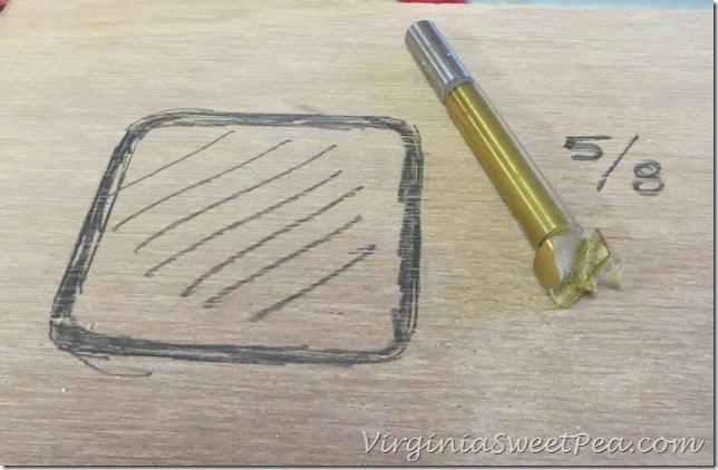 Luan Template for Wooden Centerpiece