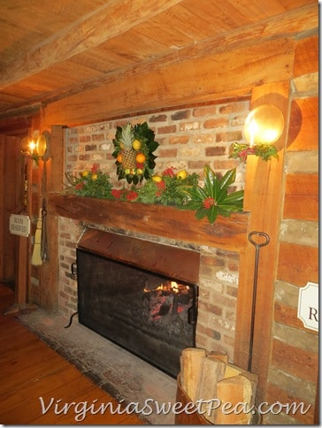 Michie Tavern Fireplace