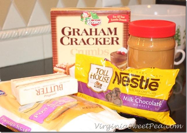 Peanut Butter Bar Ingredientss