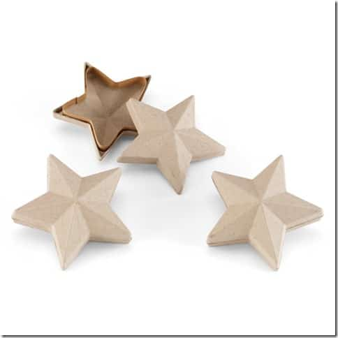 Star decorative boxes