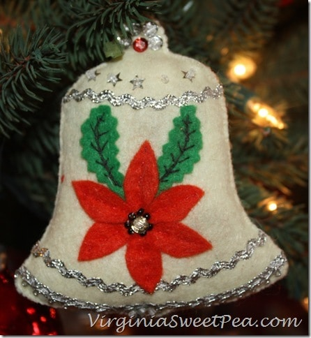 Vintage Felt Ornament