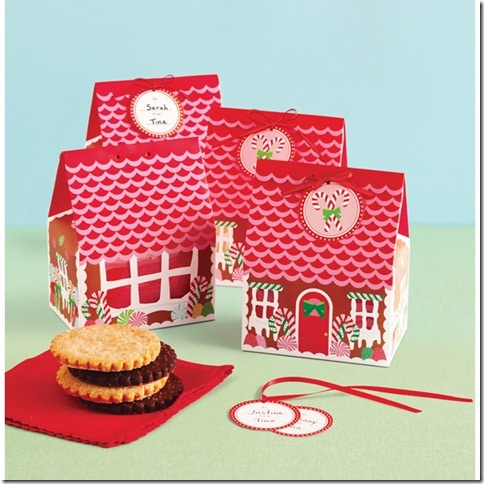 Wonderland Gingerbread Treat Boxes