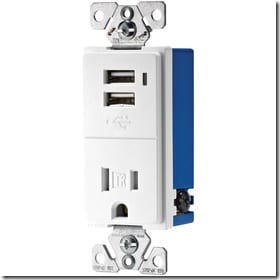 15-Amp White Decorator Single Electrical Outlet19.87