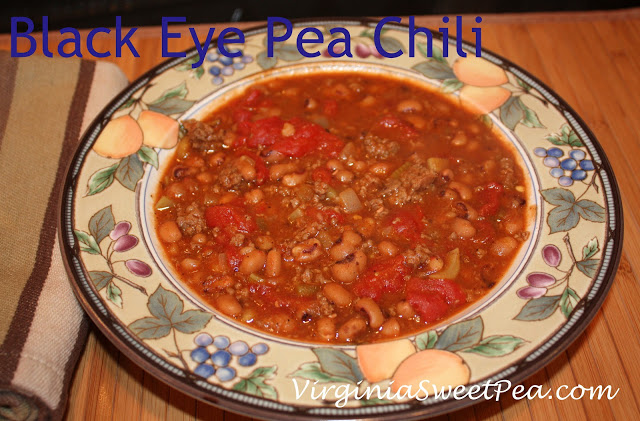 Black Eye Pea Chili