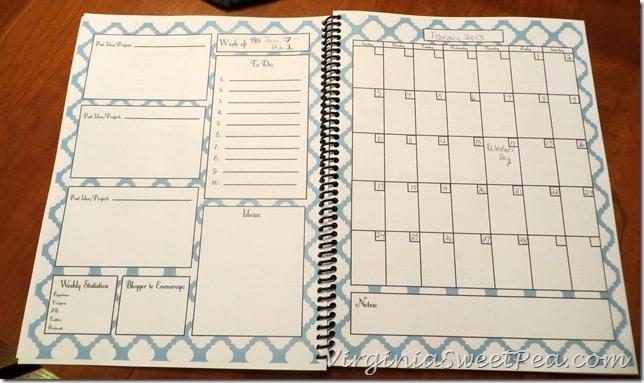 Blog Planner - February