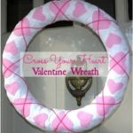 Cross Your Heart Valentine Wreath