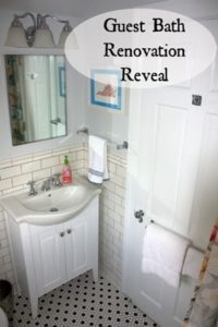 Guest Bathroom Reveal :: 1980's to 2013