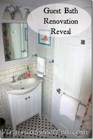 Guest Bath Renovation Reveal