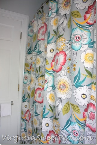 Guest Bath Renovation - Shower Curtain2