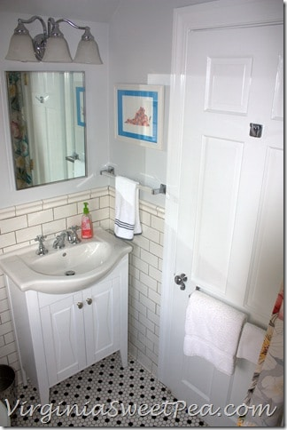 Guest Bath Renovation - Vanity-Door Closed