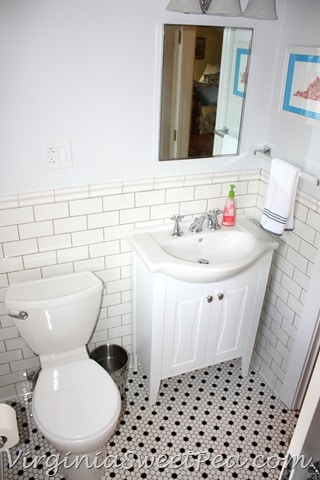 Guest Bathroom Renovation by Virginia Sweet Pea