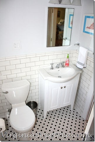Guest Bath Renovation - Vanity and Toilet
