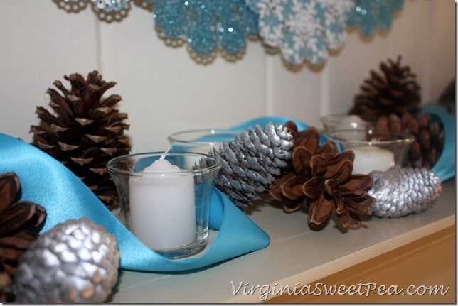 Mantel cones and candles