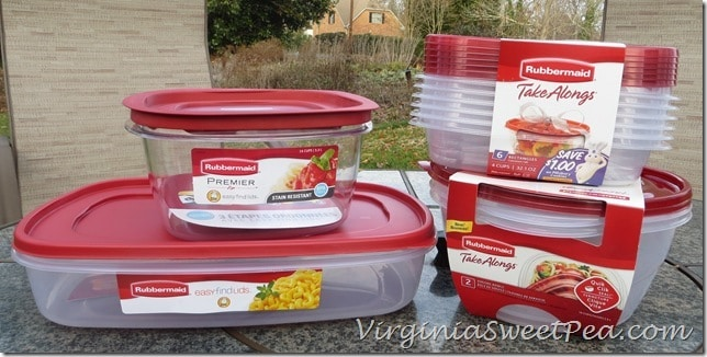 My Rubbermaid Purchases from Target