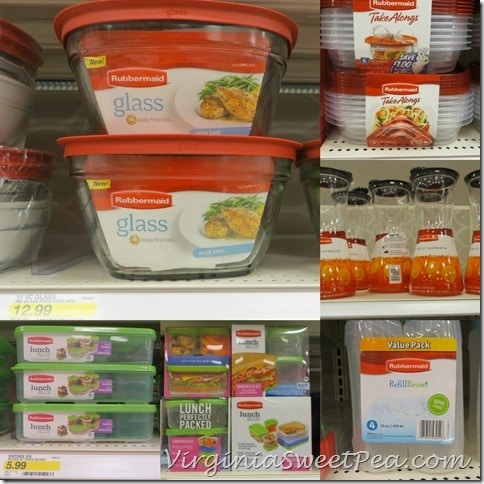 Rubbermaid Products in Target