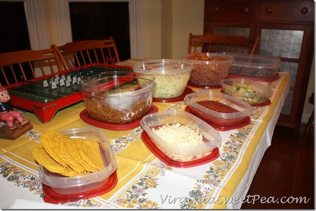 Rubbermaid Products with Food